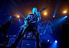 Slayer 36 Kerry King Tom Araya Gary Holt Paul Bostaph Great Rock Metal-Album Cover, Musik Best-Band Bilderrahmen für DIN A3, Poster-Prin