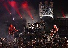 Slayer 55 Kerry King Tom Araya Gary Holt Paul Bostaph Great Rock Metal-Album Cover, Musik Bilderrahmen Best-Band, für A4-Poster Kunstdruck