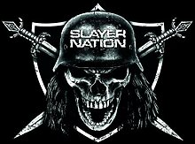 Slayer Frühstücksbrettchen, Kunststoff, schwarz