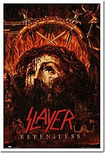 Slayer repentless Poster Kork Pinnwand Memoboard