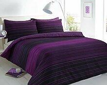 Sleepdown Bettdecke, Baumwolle Polyester, violett,