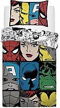 Sleepdown Marvel Comic Tones Bettwäsche-Set für