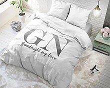 SleepTime Bettwäsche Baumwolle Goodnight Silver,