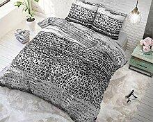 SleepTime Bettwäsche Baumwolle Panther Style,