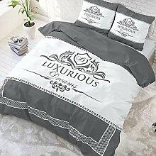 SleepTime Bettwäsche Luxurious Anthrazit