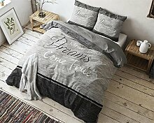 SleepTime Bettwäsche True Dreams, 200cm x 200cm,