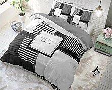 SleepTime Bettwäsche Zusammen, 200cm x 200cm Mit