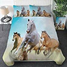 Sleepwish Bettwäsche-Set Galoppierende Pferde