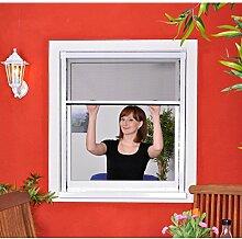Slim Rollo - Fliegengitter für Fenster als Rollo