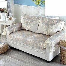 Slip sofa handtuch Sofa-kissen Handtuch handtuchhalter Couchtisch abdeckung handtuch-Gelb 95x240cm(37x94inch)