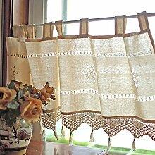 Slivercolor Scheibengardine Vorhang/Kurze