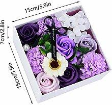 SLJHTM Künstliche Rose Soap Flower Künstliche