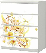 SLK-Shop Aufkleber für IKEA Malm Kommode 80x100cm