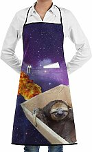 Sloth in Space Box Ship Adjustable Kitchen Chef