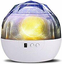 SlowTon Projektor Lampe, Sternenhimmel 360 Grad