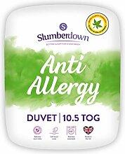 Slumberdown Allergiker-Bettdecke, weiß, King Size