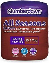 Slumberdown Bettdecke, 4 Jahreszeiten, 13,5 Tog,