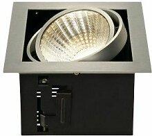 SLV KADUX LED Single DL Set, alu-brushed, 30°,