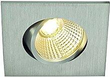 SLV LED Deckeneinbaustrahler NEW TRIA 45 I eckig,