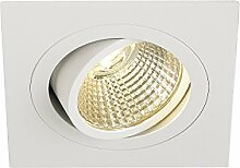 SLV LED Deckeneinbaustrahler NEW TRIA 77 I eckig,