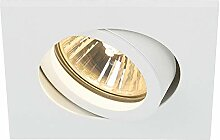 SLV LED Deckeneinbaustrahler NEW TRIA 78 I eckig,