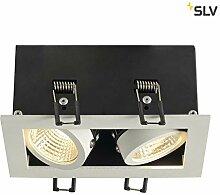 SLV LED Einbau-Strahler KADUX, dreh- und