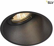 SLV LED Einbauleuchte HORN-A, rund, IP21 ,