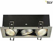 SLV LED Einbauleuchte KADUX, dreh- und schwenkbar