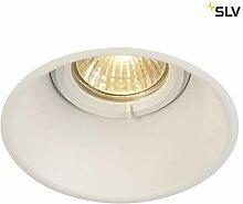 SLV LED Einbaustrahler HORN-O, rund, IP21 ,