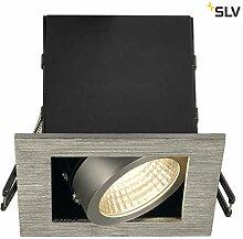 SLV LED Einbaustrahler KADUX, dreh- und schwenkbar