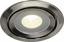 SLV LED Einbaustrahler LUZO zur Decken-Beleuchtung