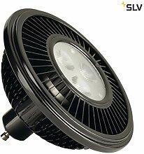 SLV LED ES111, Leuchtmittel, Aluminium, GU10, 15.5