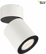 SLV LED Strahler SUPROS 2100lm dreh- und
