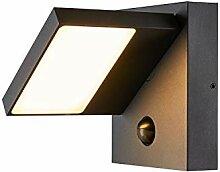 SLV LED Wandleuchte ABRIDOR zur Außenbeleuchtung