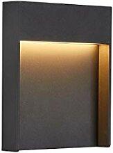 SLV LED Wandleuchte FLATT für die
