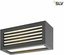 SLV Wandlampe BOX-L anthrazit | effektvolle