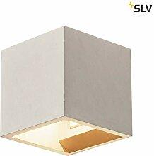 SLV Wandlampe SOLID CUBE für die gemütliche