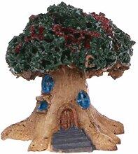 SLYlive DIY Mikro-Landschafts-Ornament, Kunstharz,