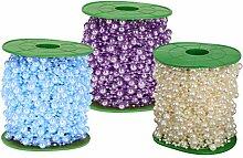 SM SunniMix 3pcs Perlengirlande Perlenband