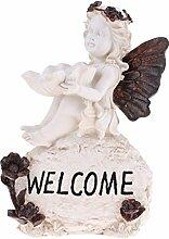 SM SunniMix 3tlg Frosch Gartenfigur Skulptur,