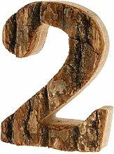 SM SunniMix Holz 0-9 Nummer Haustürnummer