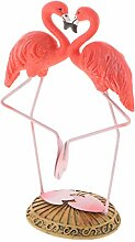 SM SunniMix Nordische Flamingo Dekofigur Figur