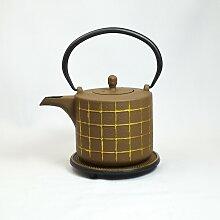 smaajette Teekanne Kogane Inhalt 0,8 l braun