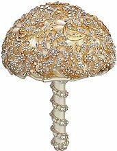 SMACO Bridal Bouquet Gold Gold Diamondhandmade
