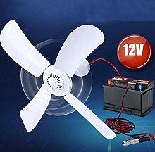 Small ceiling fan 12V Kleiner Deckenventilator, DC