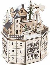 Small Foot by Legler Adventskalender mit Pyramide