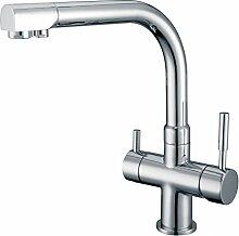 smardy DUO301 3 Wege Wasserhahn Küchenarmatur