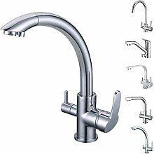 SMARDY DUO304 3 Wege Wasserhahn Küchenarmatur