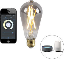 Smart E27 dimmbare LED-Lampe mit App 7W 400 lm