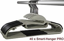 Smart-Hangers PRO | platzspar, gummiert,